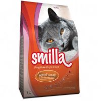 1kg Smilla Adult Cat Food - Poultry
