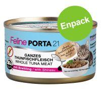 1 x 90 g Feline Porta 21 kyckling med aloe