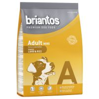 3kg Briantos Adult Mini Dog Food - Lamb & Rice