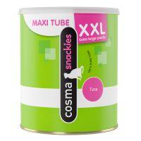 200g Cosma Snackies XXL Maxi Tube frystorkat kattgodis i kycklingsmak