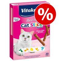 Månadens premie: Vitakraft Cat Stick Classic kattgodis Kyckling & kattgräs