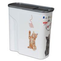 Curver Recipient de hrană pentru pisici până la 2,5 kg hrană uscată