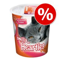 Reward of the Month: 125g Smilla Hearties Cat Snacks