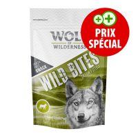 Wolf of Wilderness Bouchées Green Fields agneau 180 g pour chien