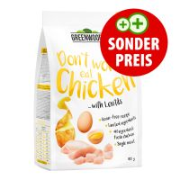 400 g Greenwoods Huhn mit Linsen, Kartoffeln und Ei