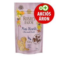"Rosie's Farm Puppy Snacks ""Mini Hearts"" pulyka 50g"