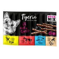 10 x 5 g Tigeria Sticks - Kylling & And