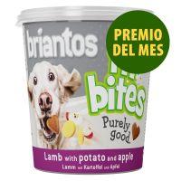 Premio del mes: 150 g Briantos FitBites con cordero, patatas y manzanas