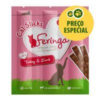 3 x 6 g Feringa Sticks com peru e cordeiro