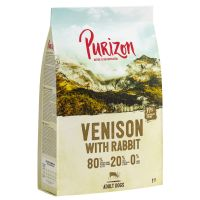 UUSI RESEPTI: Purizon Venison & Rabbit Adult - viljaton 1 kg