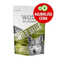Wolf of Wilderness Snack - Wild Bites - Green Fields jagnjetina 180 g