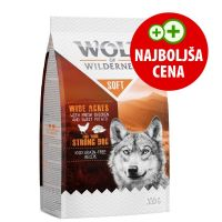 "Wolf of Wilderness ""Soft - Wide Acres"" - piščanec 350 g"