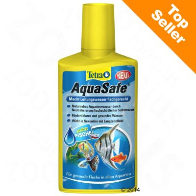 Conditionneur d'eau Tetra AquaSafe - 250 mL