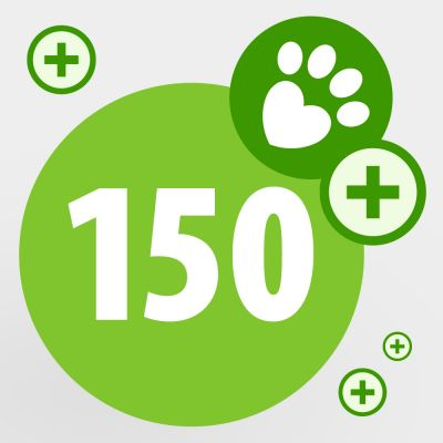 Donate your zooPoints and help a pet in need: 150 zooPoints