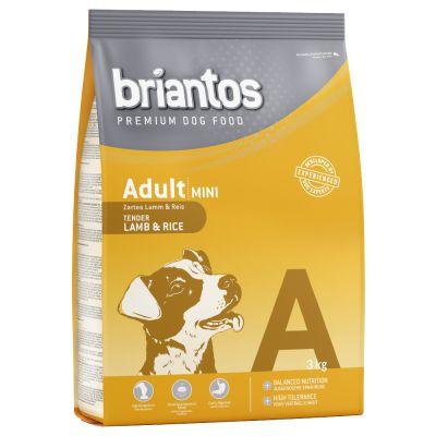 3kg Briantos Adult Mini Dog Food - Lamb & Rice