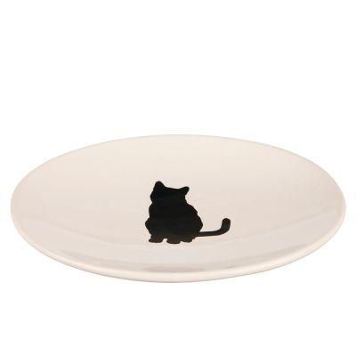 Trixie Ceramic Dish with Cat Design