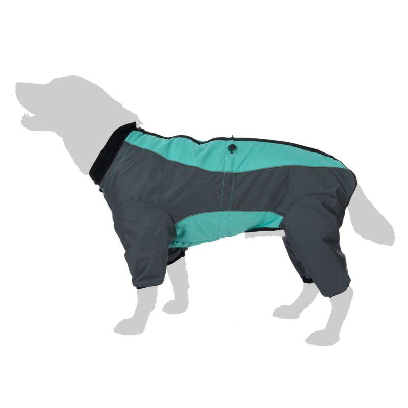 Abrigo largo Overall II para perros