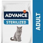 Advance Sterilized dinde, orge pour chat