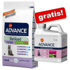 Advance Droogvoer + Advance Kattenbakvulling gratis!