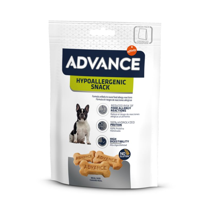 Advance Hypoallergenic snacks para cães