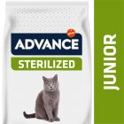 Advance Junior Sterilized pollo