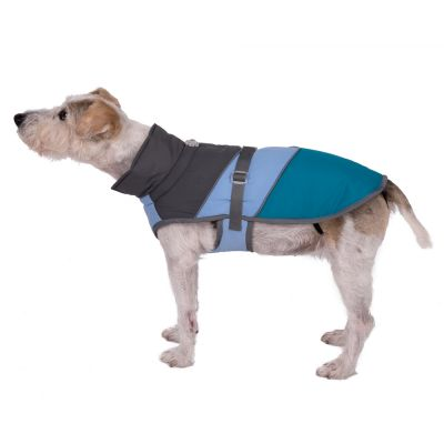 Adventure Dog Coat - Taupe, Lilac & Turquoise