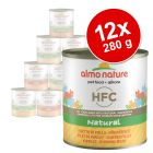 Almo Nature HFC 12 x 280 g - Pack Ahorro