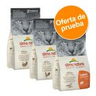 Almo Nature Holistic Adult 3 x 400 g - Pack de prueba