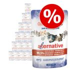 Almo Nature HFC Alternative kissanruoka 24 x 55 g erikoishintaan!