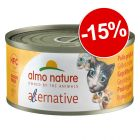 Almo Nature HFC Alternative 6 x 70 g : 15 % de remise