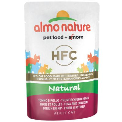 Almo Nature HFC Pouch 6 x 55 g