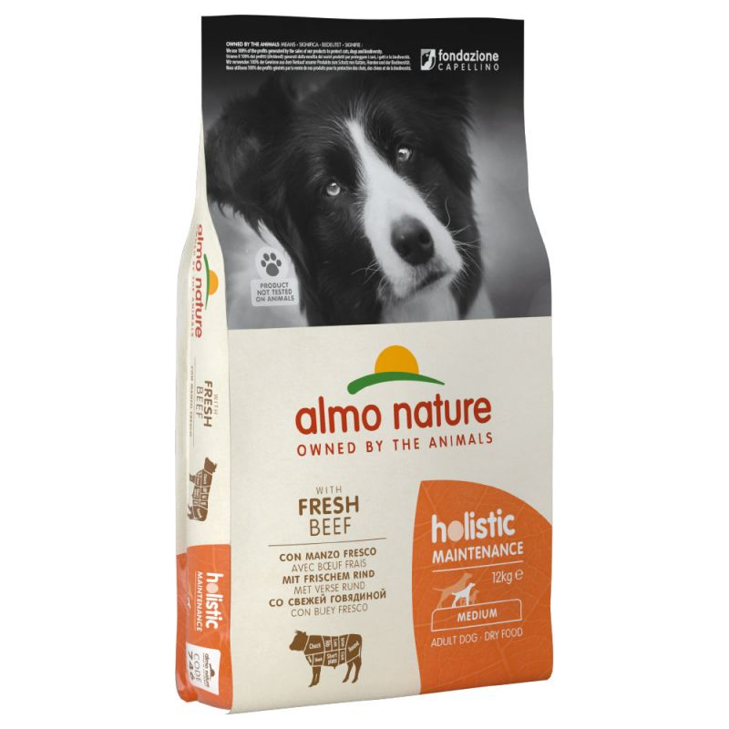 Almo Nature Holistic Medium Adult Dog - Beef & Rice