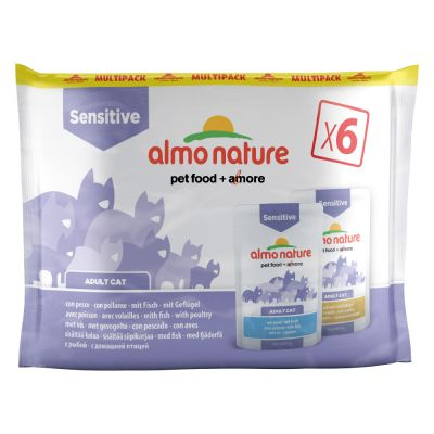 Almo Nature Sensitive Pouch Mixed Pack