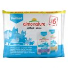 Almo Nature Sterilised Pouch Mixed Pack 6 x 70g