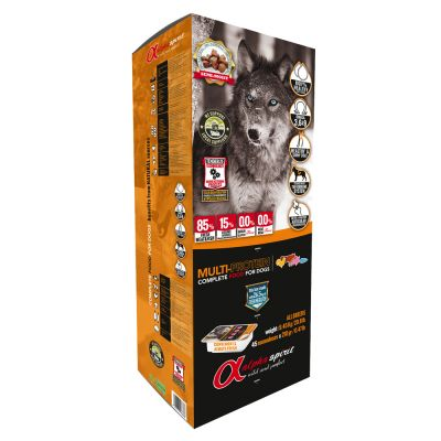 Alpha Spirit Dog Food Mixed Pack
