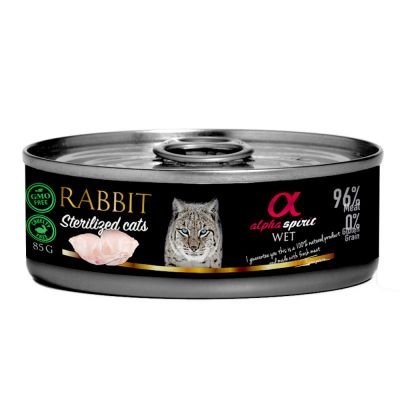 Alpha Spirit Sterilized Cats 18 x 85 g