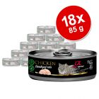 Alpha Spirit Sterilized 18 x 85 g pour chat