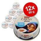 Animonda Carny Ocean 12 x 80 g - Pack mixto