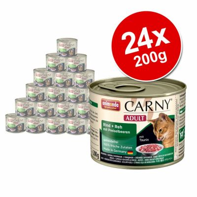 Animonda Carny Adult Saver Pack 24 x 200g