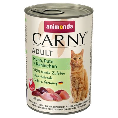 Animonda Carny Adult, 6 x 400 g