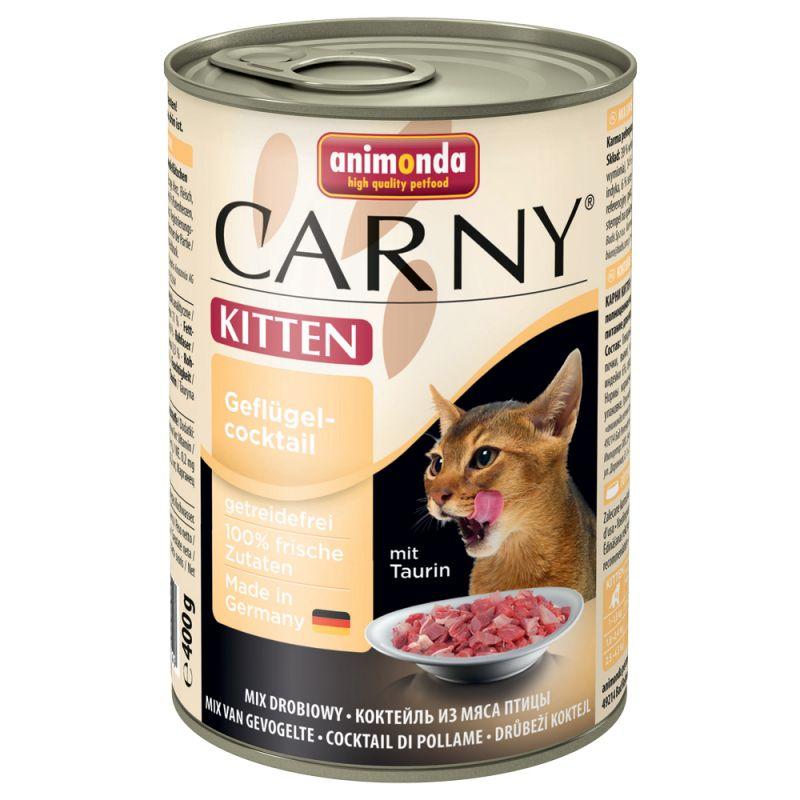 Animonda Carny Kitten 6 x 400 g