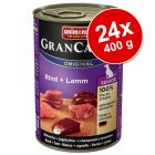 Πακέτο Προσφοράς Animonda GranCarno Original Senior 24 x 400 g