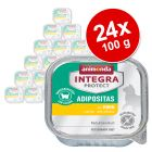 Animonda Integra Protect Adult Adipositas tálcás 24 x 100 g