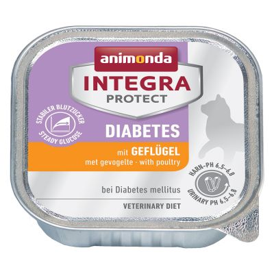 Animonda Integra Protect Adult Diabète 6 x 100 g pour chat