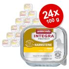 Animonda Integra Protect Adult Harnsteine tálcás 24 x 100 g
