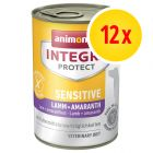Animonda Integra Protect Sensitive Blik 12 x 400 g Hondenvoer