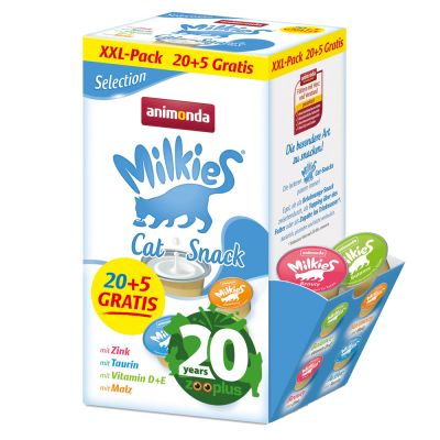 Animonda Milkies Selection 20 + 5 ¡gratis! - Edición de aniversario