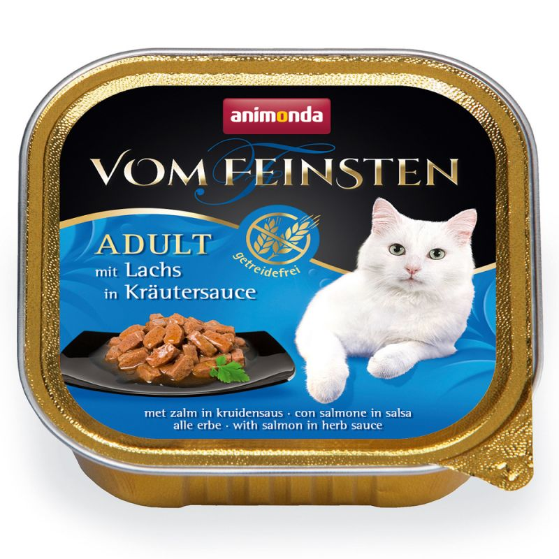 Animonda vom Feinsten Adult No Grain in Sauce 6 x 100 g