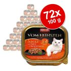 Animonda vom Feinsten Adult NoGrain in Sauce Megapack 72 x 100 g
