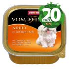 Animonda Vom Feinsten Adult Senza Cereali 6 x 150 g